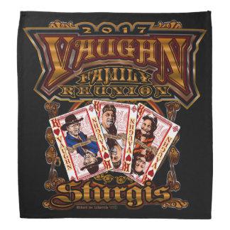 Pañuelo del negro de la reunión de Vaughn de la
