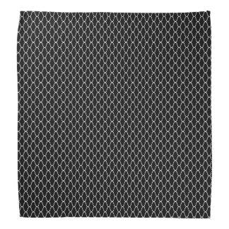 Pañuelo del negro del modelo de Amime del japonés Bandana