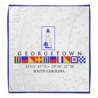 Pañuelo del SC de Georgetown de las banderas de