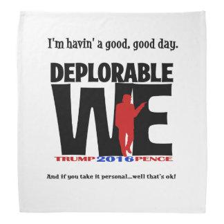 Pañuelo deplorable bandanas