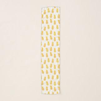Pañuelo Diseño tropical del modelo hawaiano de la piña