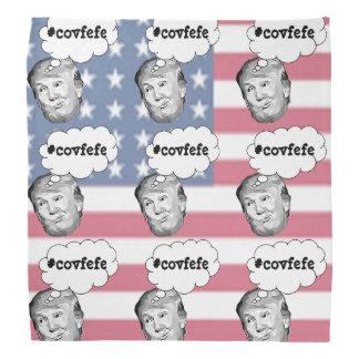 Pañuelo divertido del #covfefe de Donald Trump de Bandana