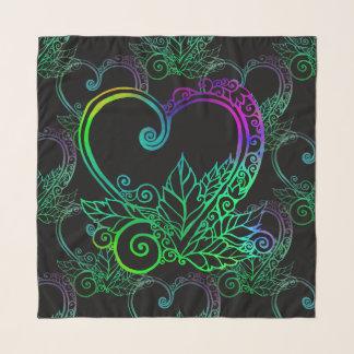 Pañuelo El amor crece el modelo vibrante