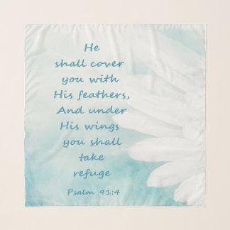 Pañuelo El salmo inspirado 41 de la escritura de la biblia
