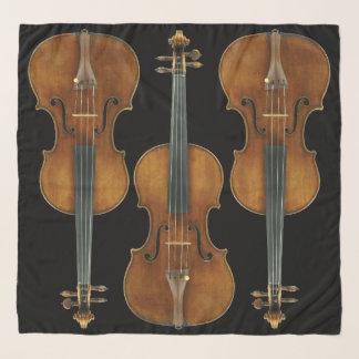 Pañuelo El trío del violín de Stradivarius elige color de