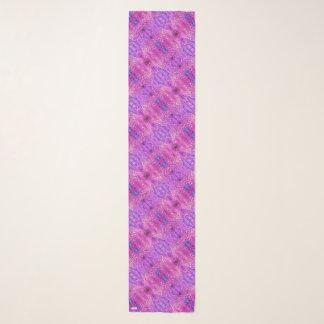 Pañuelo Extracto rosado y púrpura magenta