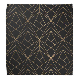Pañuelo geométrico abstracto del modelo el | del