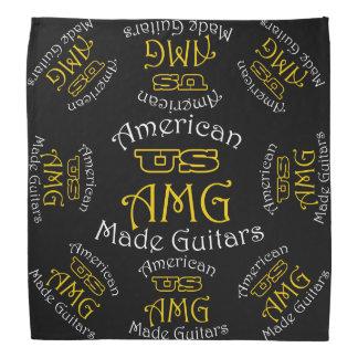 Pañuelo hecho americano de las guitarras de los