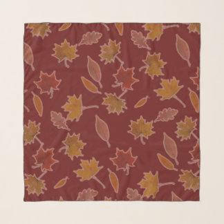 Pañuelo Hojas de otoño en color de encargo