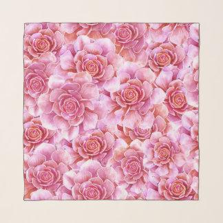 Pañuelo Lavanda floral del cactus rosado de los Succulents