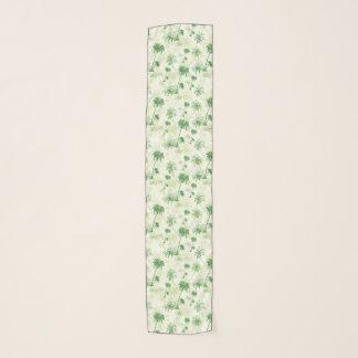 Pañuelo Modelo verde de la palmera