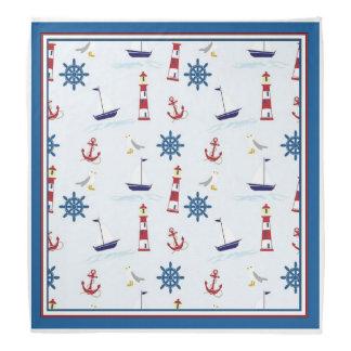 Pañuelo náutico de la navegación feliz