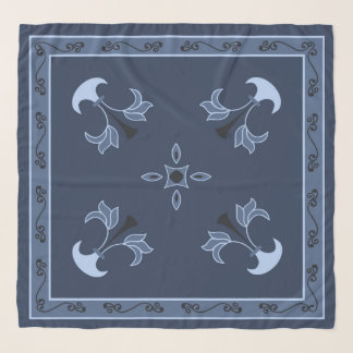 Pañuelo Noche azul
