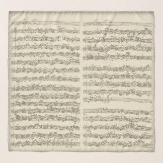 Pañuelo Páginas manuscritas de la habitación del