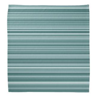 Pañuelo rayado del trullo azul