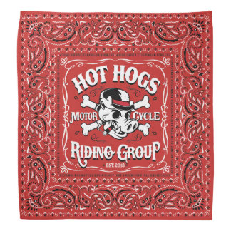 Pañuelo rojo clásico caliente de Hogs™