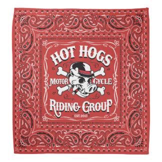 Pañuelo rojo clásico caliente de Hogs™ Bandanas