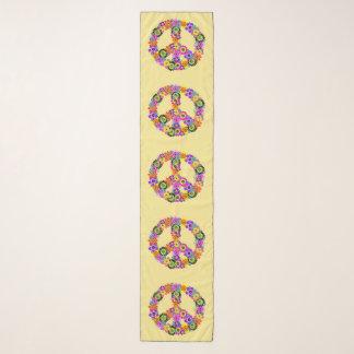 Pañuelo Signo de la paz en amarillo