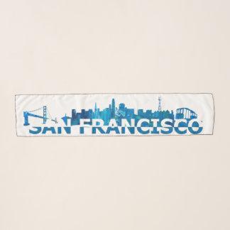 Pañuelo Silueta de San Francisco California Sykline