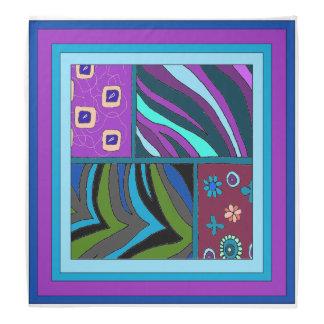 Pañuelo tropical hermoso y colorido del modelo