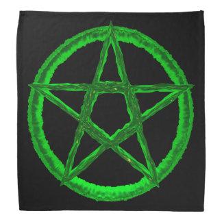 Pañuelo verde del Pentagram