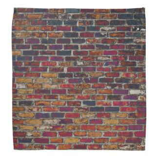 Pañuelo violeta del ladrillo bandanas