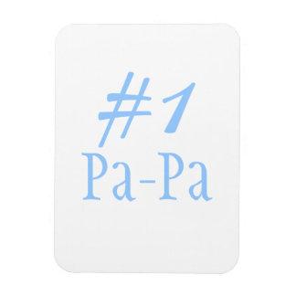 Papá #1 imanes rectangulares
