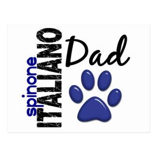 Papá 2 de Spinone Italiano Tarjeta Postal