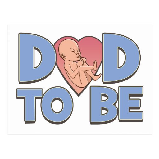 Papá a ser de maternidad postal