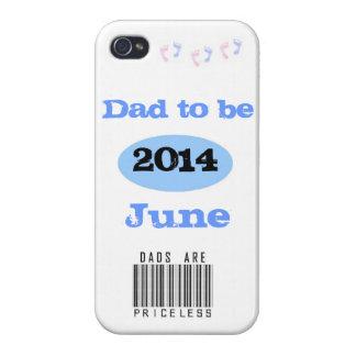 Papá a ser iPhone 4/4S carcasa