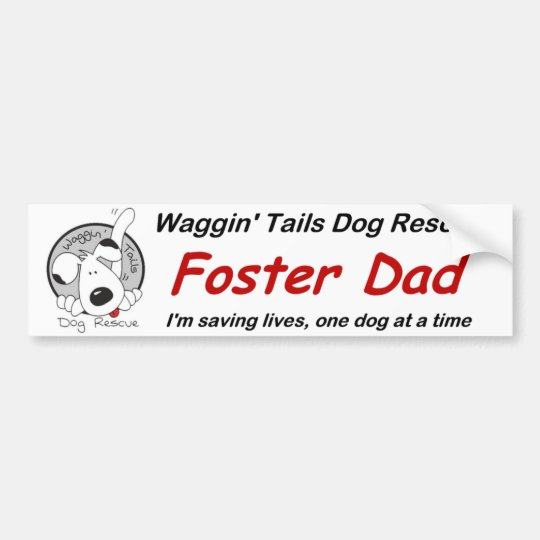 Papá adoptivo pegatina para coche