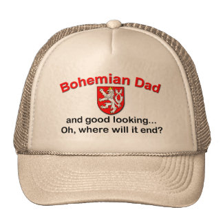 Papá bohemio apuesto gorra