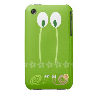 Papá caracol y el primer amor del hijo y su novia Case-Mate iPhone 3 protector