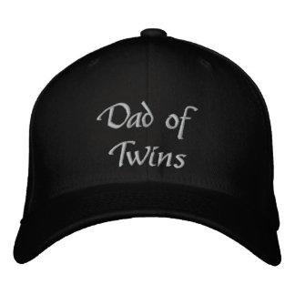 Papá de gemelos gorra bordada