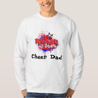 Papá de la alegría - manga larga camiseta