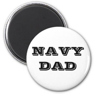 Papá de la marina de guerra del imán