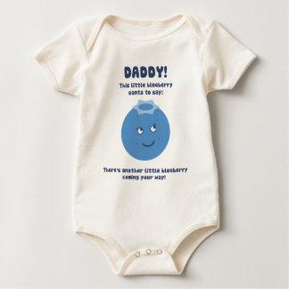 ¡Papá de la sorpresa! ¡Contar con al nuevo bebé Body Para Bebé