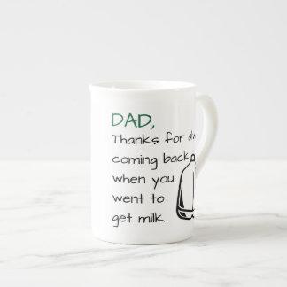 Papá de las gracias - taza del día de padre