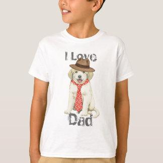 Papá de los grandes Pirineos Camiseta
