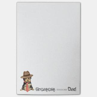 Papá de Yorkie Notas Post-it®