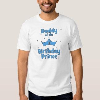 ¡Papá del 1r príncipe del cumpleaños! Camisas