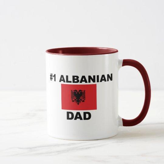 Papá del albanés #1 taza