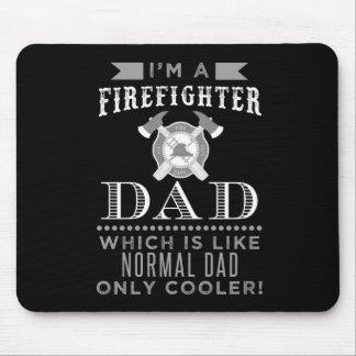 Papá del bombero, cojín de ratón fresco del papá alfombrilla de ratón