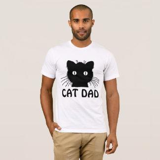 PAPÁ del CAT, camisetas del CAT NEGRO