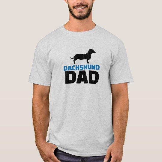 Papá del Dachshund Camiseta