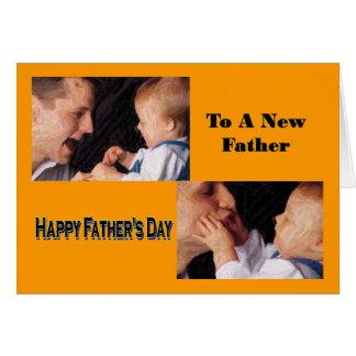 Papá del día de padre Tarjeta-Nuevo