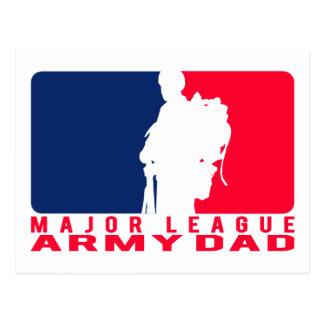 Papá del ejército de la primera división postal