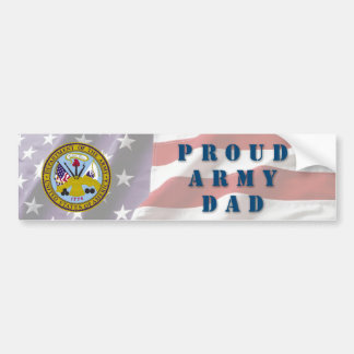 Papá del ejército pegatina para coche