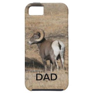 Papá del espolón del Big Horn iPhone 5 Protectores