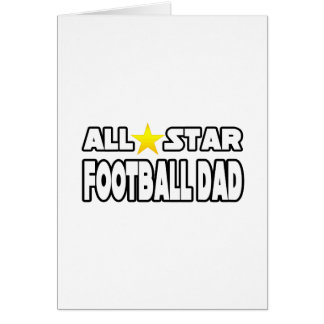 Papá del fútbol de All Star Tarjetas